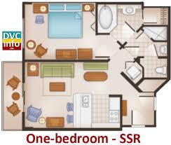 Bay Lake Tower One Bedroom Villa Floor Plan Disney U0027s Saratoga Springs Resort U0026 Spa Dvcinfo Com