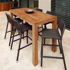 Outdoor Bar Table Wooden Bar Table Home Furnishings