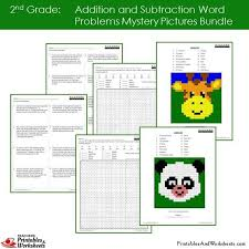 subtraction word problems 2nd grade addition and subtraction word problems coloring