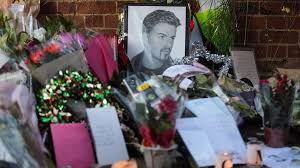 tributes build at george michael u0027s home bbc news