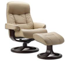 Leather Chair With Ottoman Fjords 215 Muldal Ergonomic Leather Recliner Chair Ottoman
