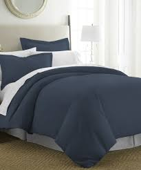 Cover Bed Frame Ienjoy Home Collection Navy Ultra Soft Duvet Cover Set Zulily