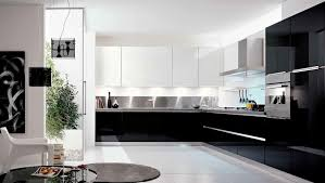 cuisine noir et blanche cuisine noir et blanc laque beautiful bois pictures design trends
