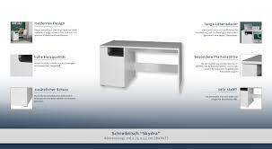 Schreibtisch 55 Cm Tief Schreibtisch