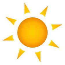 image of clip sun rays 7175 sun with rays clipart clipartoons