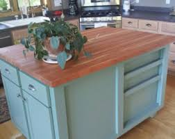 48 kitchen island butcher block island etsy