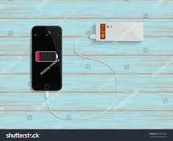 charge your phone charge your phone by power bank stock vector 239378332 shutterstock