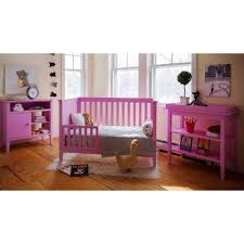 Walmart Convertible Cribs by Lolly U0026 Me Color Me 3 In 1 Convertible Crib Bubble Gum Pink