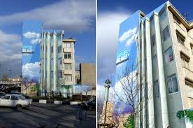 surreal mural by iranian artist mehdi ghadyanloo materializes on