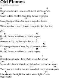 Light One Candle Lyrics Songs With Chords Old Flames