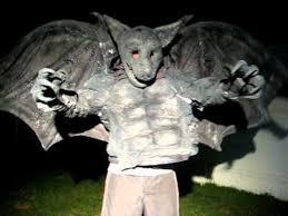 Gargoyle Costume Gargoyle Costume Test Youtube