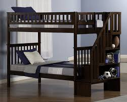 Woodland Bunk Bed Woodland Staircase Bunk Bed Antique Walnut