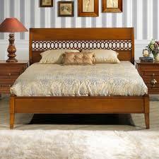Wooden Bed Furniture Simple Bedroom Simple Solid Wood Bedroom Furniture Sfdark