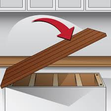 how to install butcher block countertops wood countertop installation guide