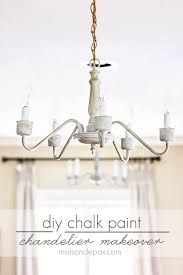 Chandelier Sign Chalk Painted Brass Chandelier Musethecollective