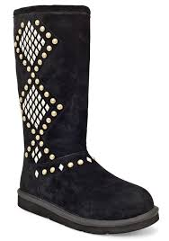 ugg womens eliott boots black ugg boots with studs