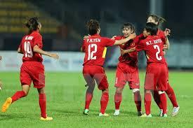 bong nu thắng đậm malaysia việt nam giành hcv bóng đá nữ sea 29