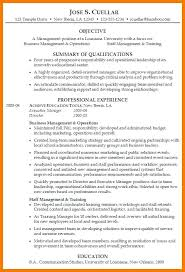 resume objective sles management resumes for management positions exle resume page 3 resume