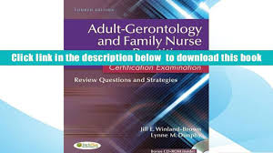 download gerontology and family nurse practitioner