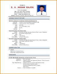 Fresher Resume Format 100 Resume Sample It Fresher Sample Resume Format For Fresh