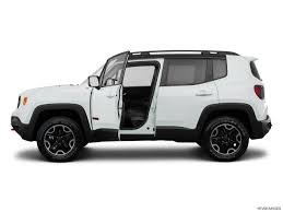 white jeep 2016 2016 jeep renegade trailhawk market value what u0027s my car worth