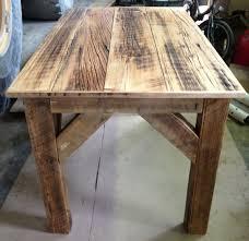 homemade barn wood desk for michelle u0027s studio barn wood