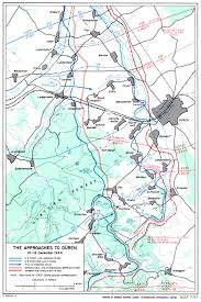 Aachen Germany Map by The Siegfried Line Campaign Maps