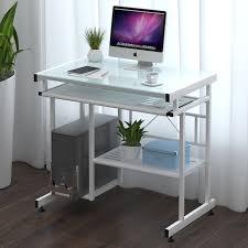 get quotations million of computer desk desktop home computer desk simple minimalist desk computer desk glass computer desk