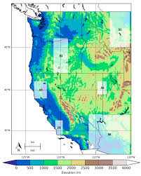 Western United States Map Remote Sensing Free Full Text Spatial And Temporal Variability