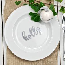 wedding plate settings personalised gold and silver wedding place settings by bespoke