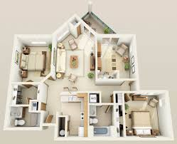 apartments 3 bedroom modern concept three bedroom apartments floor plans with luxury 1