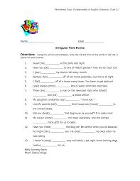 Declarative And Interrogative Sentences Worksheets French Regular Verbs Worksheet Abitlikethis