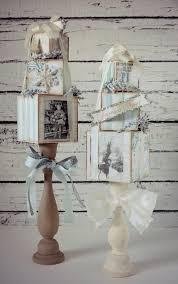 topiarios decorados con tecnica decoupage para navidad ideas