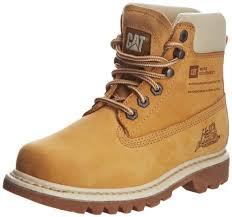 womens caterpillar boots uk amazon com caterpillar bruiser 6 honey womens ankle boots size