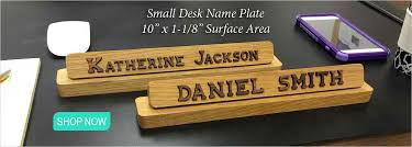 Name Plates For Office Desk Name Plates To Make Any Office Unique Desk Door Or Wall Name Plates