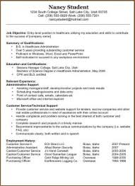 Resume Templates For First Job by Free Resume Templates 85 Fascinating Resumes For Quickoffice