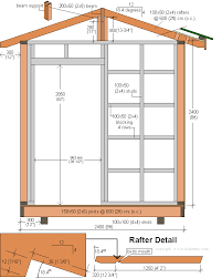 Floor Plans For Sheds How To Build A Storage Shed Front Elevation Plans