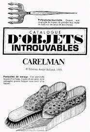 fond d ran de bureau unobtainable objects by jacques carelman