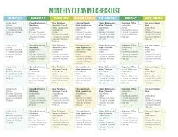 House Cleaning List Template 7 Of The Best Free Printable Cleaning Schedules