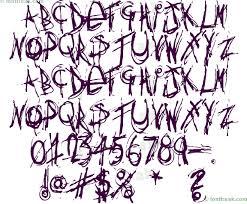 27 fabulous graffiti fonts for free simplefreethemes