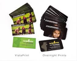 vista print vs overnight prints the digital trekker