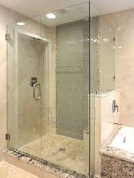 90 degree shower door by the original frameless shower doors