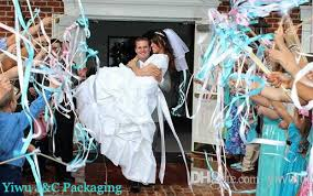 wedding wands of wedding ribbon wands wedding confetti ribbon sticks