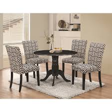 Coaster Allston Round Pedestal 5 Pc Table U0026 Chair Set Value City