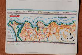 Map Of Sierra Leone Freetown Mural And Other Images From Sierra Leone Dan Tucker