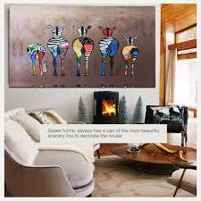 Zebra Home Decor Hd Unframed Canvas Print Zebra Home Decor Wall Art Poster Painting