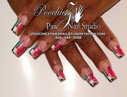 poochiez pawz nail studio nail art archive style nails magazine