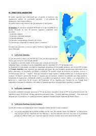 territorio argentino