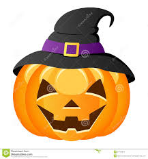 kiddie halloween background halloween pumpkin with witch hat stock images image 34728614
