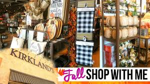 Home Decor Pembroke Pines by Shopping At Kirkland U0027s For Fall Home Decor Kirklands Fall Shop